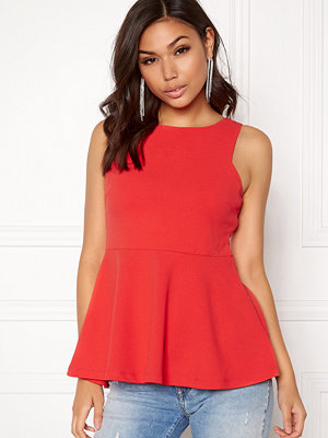 Bubbleroom Stacy peplum top
