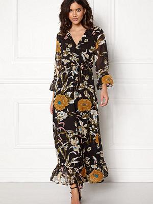 Object Fabrice L/S Long Dress