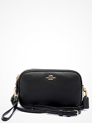 Coach svart väska Crossbody Clutch Leather