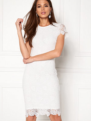 Bubbleroom Flora lace dress White