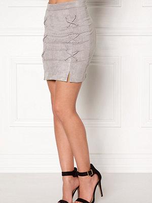 Bubbleroom Miriam suede skirt