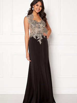 Susanna Rivieri Embellished Mesh Dress