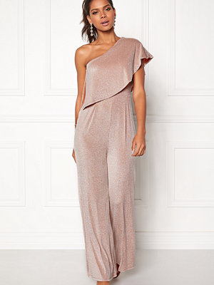 Girl In Mind One shoulder Jumpsuit
