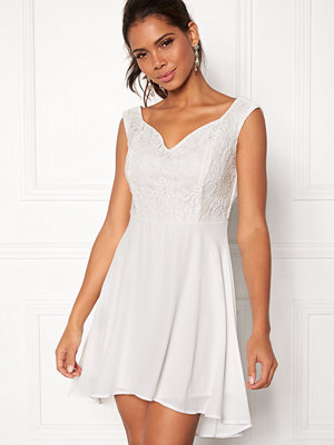 John Zack Lace Bodice H/L Dress