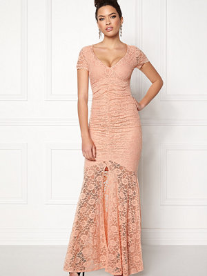 Goddiva Cap Sleeve Lace Dress