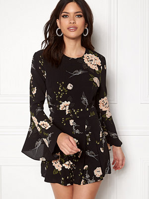 Girl In Mind Ella Floral Playsuit