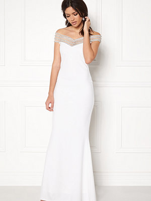 Goddiva Embellished Maxi Dress