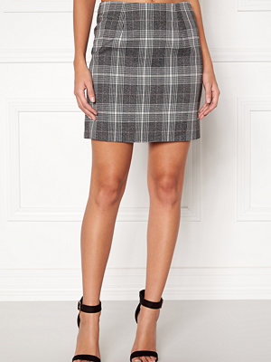 New Look Sparkle Check Mini Skirt