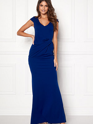 Goddiva Cap Sleeve Maxi Dress