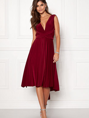 Goddiva Multi Tie Midi Dress
