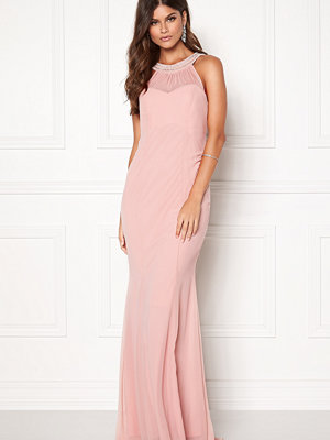 Goddiva Embellished Fistail Maxi Dress