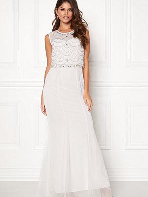 Goddiva Embellished Chiffon Dress