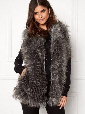 Västar - Urban Mist Tipped Faux Fur Gilet