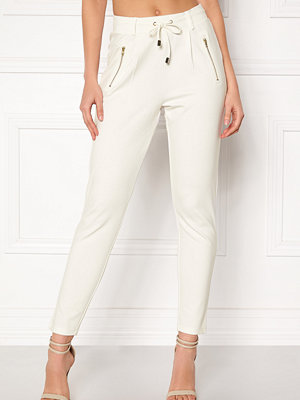 Happy Holly vita byxor Cleo Trousers