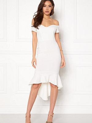 John Zack Off Shoulder High Dress