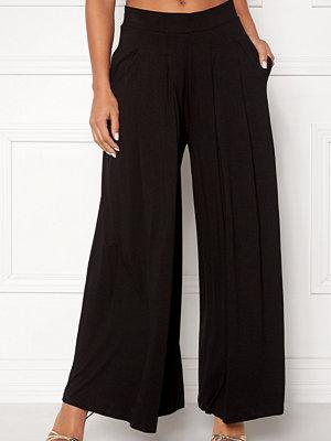 Vero Moda svarta byxor Jrape Long Wide Pants