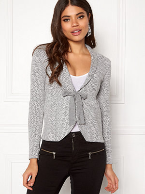 Happy Holly Kara cardigan Grey / Offwhite