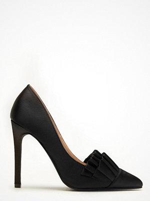 Pumps & klackskor - Lost Ink Gabbi Ruffle Shoe