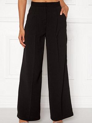 Vero Moda svarta byxor Lanjuli HW Wide Pants