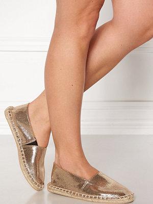 Sandaler & sandaletter - Pieces Haisha Metallic Esperdrille