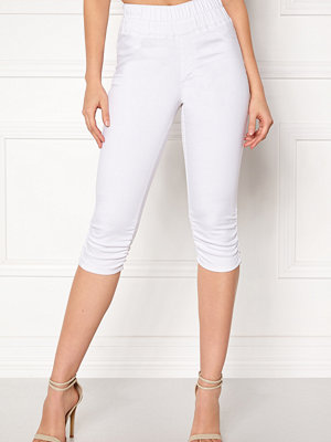 Happy Holly Becky capri jeggings White