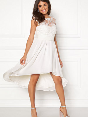 Goddiva Chiffon High Low Dress