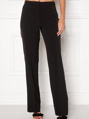 Bubbleroom svarta byxor London Suit Pants