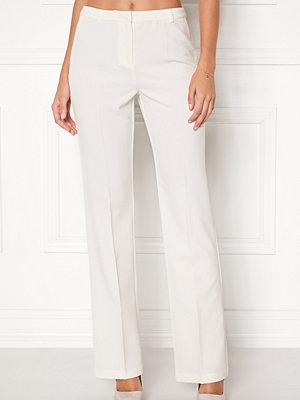 Bubbleroom vita byxor London Suit Pants