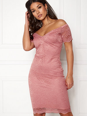New Look Scallop Bardot Midi Dress