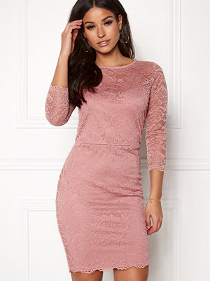 New Look Go Floral Lace Bodycon Dress