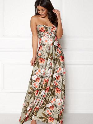 Goddiva Resort Bandeau Maxi Dress