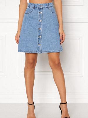 Only Farrah Reg Denim Skirt