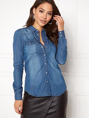 Skjortor - Vero Moda Vera LS Denim Shirt