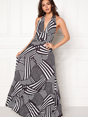 Goddiva Resort Halter Neck Maxi Dress
