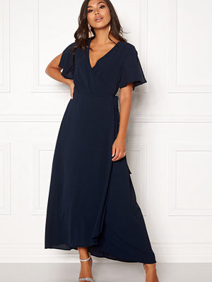 Ichi Zarun Wrap Maxi Dress