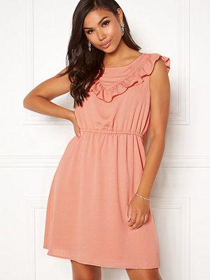 Only Caroline S/L Frill Dress