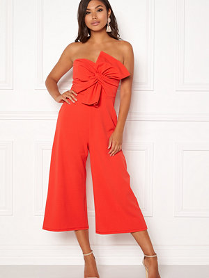 New Look Go Bow Strapless Jumpsuit