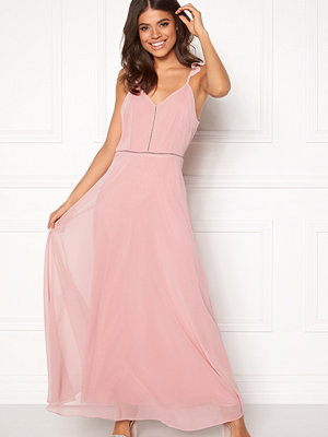 Angeleye Frill Shoulder Maxi Dress