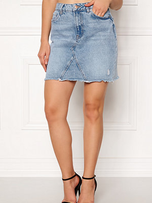 New Look Harvey Cut Off Skirt