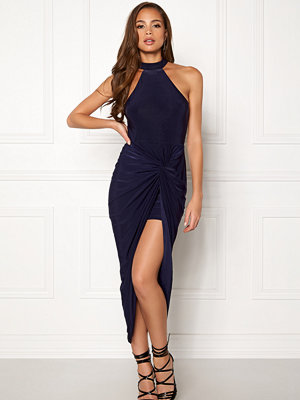 Ax Paris Rouched Wrap Over Dress