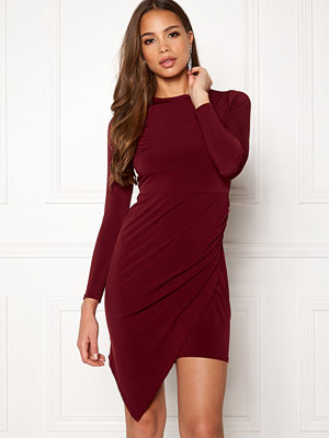 John Zack Long Asymmetric Dress
