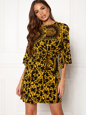 Ax Paris Printed Flared Dress