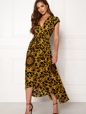 Ax Paris Printed Cap Maxi Dress