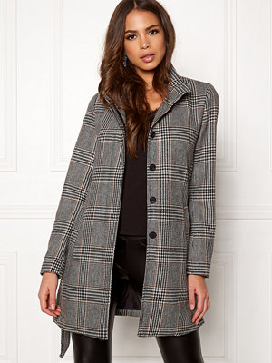 Only Ashley Check Wool Coat
