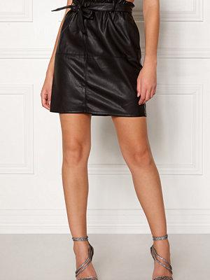 Only Rigie PU Paper Bag Skirt
