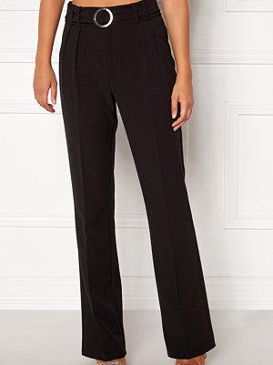 Bubbleroom svarta byxor Kenzie trousers