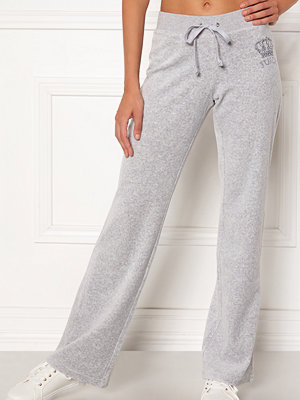 Juicy Couture ljusgrå byxor Luxe Juicy Crown Pant