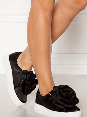 Sneakers & streetskor - Lost Ink Seline Flower Plimsoll Shoe