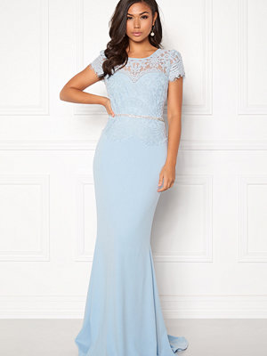 Goddiva Cap Sleeve Lace Dress
