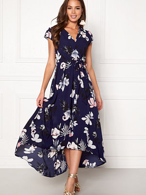 Ax Paris Floral Cap Sleeve Dress